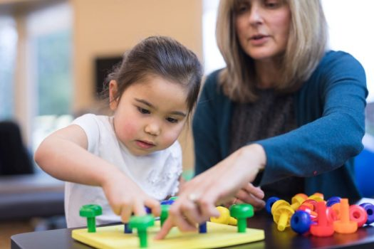 OT in early intervention for children