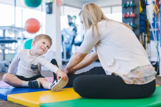 Physiotherapy and children